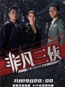非凡三侠电视剧海报